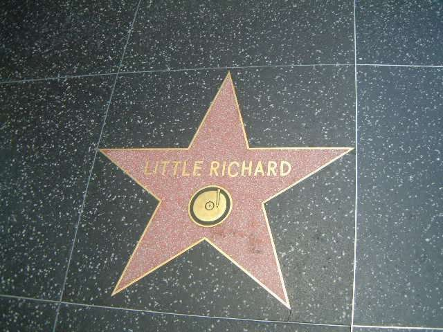 Little Richard's Star