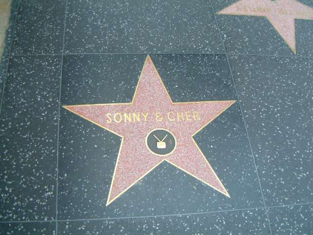 Sonny and Cher's Star