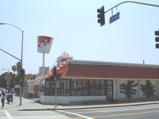 Kentucky Fried Chicken, Hollywood